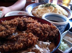 庄屋のソースヒレかつ丼ランチ