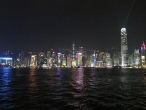 香港 100万ドルの夜景