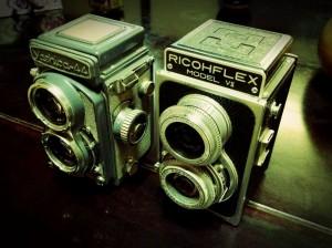 二眼カメラ