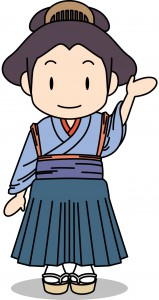 NO29お富ちゃん(左手上げ)